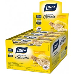 BARRA CEREAL DIET BANANA DP LINEA 6X24X25G