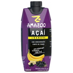 AMAZOO ACAI BANANA GLOBAL 3X12X300ML